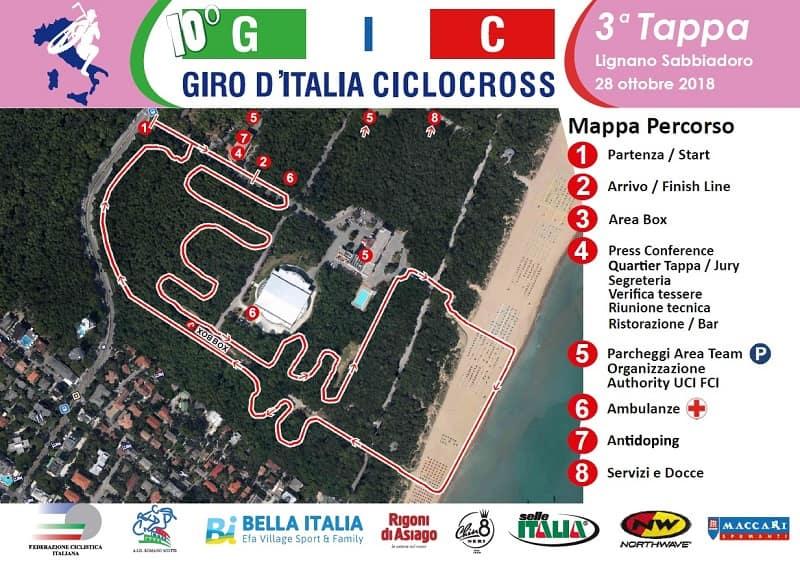 GIC 2018 tappa 3 Lignano Sabbiadoro: giro di boa per la manifestazione