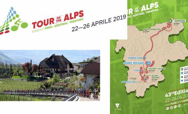 Tour of the Alps 2019 (Ex Giro del Trentino): percorso, tappe con altimetrie e start list