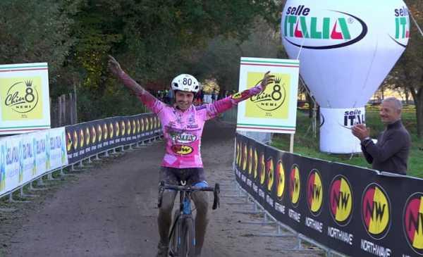 Giro d'Italia Ciclcocross: a Ferentino bis di Cominelli e vittoria della Casasola