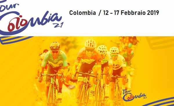 Tour Colombia 2.1 2019 presentazione del percorso e start list della 2^ edizione