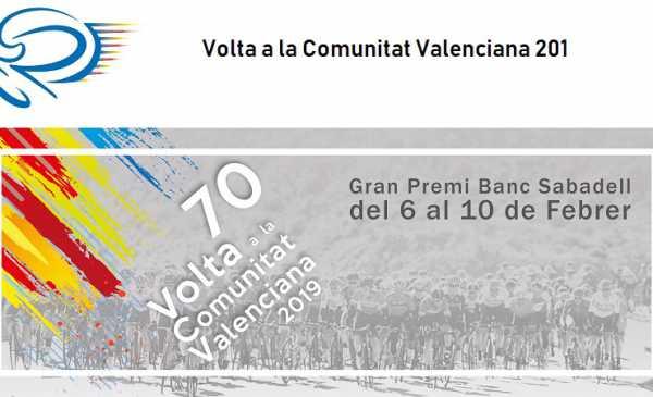 Volta a la Comunitat Valenciana 2019: tappe, percorso, altimetrie e start list