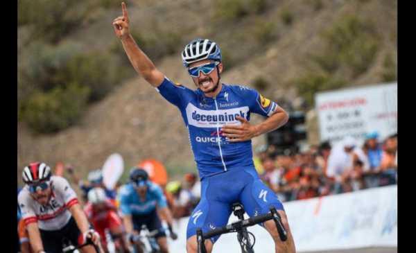 Vuelta a San Juan 2019 tappa 2: vittoria di Alaphilippe, Consonni 2°