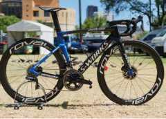 Specialized S-Works Venge e Tarmac Disc: le immagini delle bici di Elia Viviani