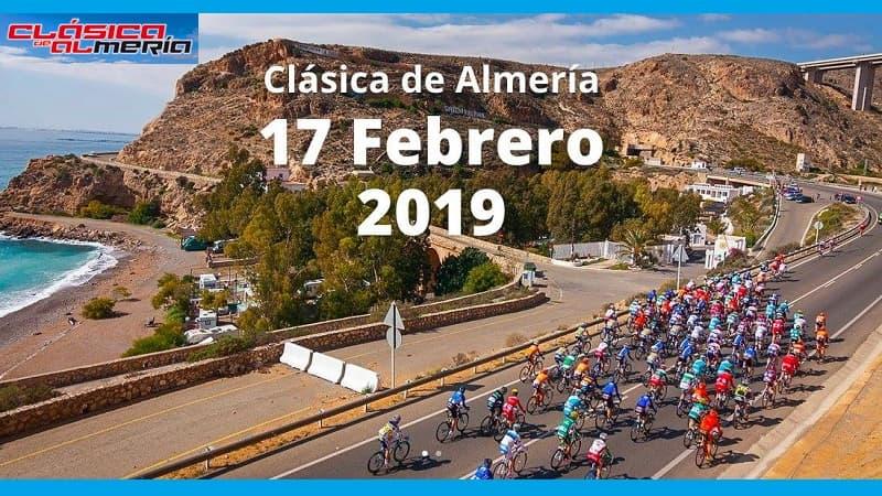 Clasica de Almeria 2019 percorso, altimetria e start list