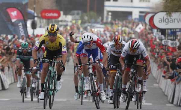 Volta ao Algarve 2019 tappa 4: vittoria di Groenewegen