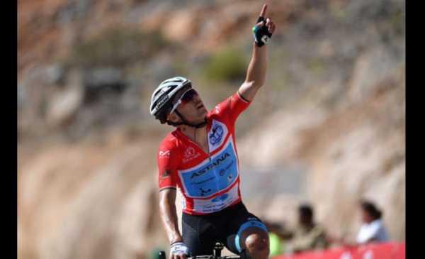 Tour of Oman 2019: Lutsenko vince la 5^ tappa, terzo Pozzovivo
