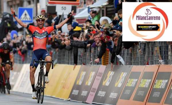 Milano Sanremo 2019: percorso con planimetria e altimetria e start list dell'edizione 110
