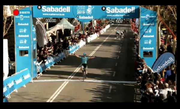 Vuelta a Murcia tappa 1: Bilbao vince davanti ai suoi compagni Sancheze Fraile