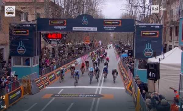 Tirreno Adriatico 2019: bis di Alaphilippe a Jesi