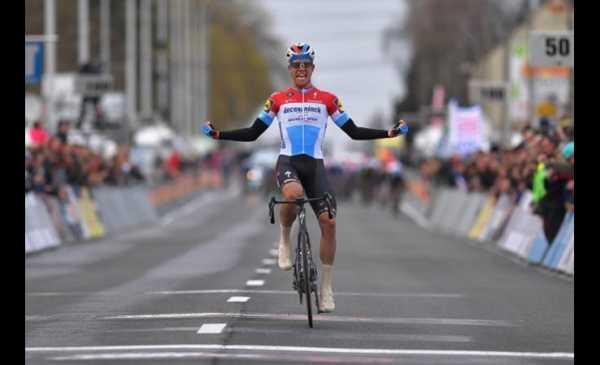 Jungels ha vinto la Kuurne-Brussel-Kuurne 2019