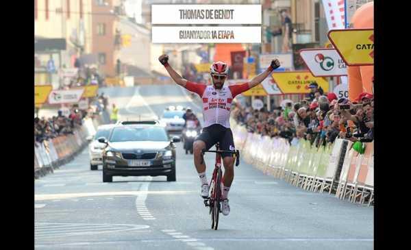 Volta a Catalunya: De Gendt vince la prima tappa – Tutte le Classifiche