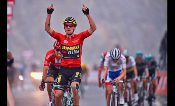 UAE Tour 2019: Roglic vince sulla salita finale del Jebel Jais