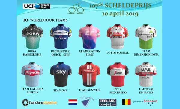 Scheldeprijs 2019: percorso, altimetria e start list dell'edizione 107