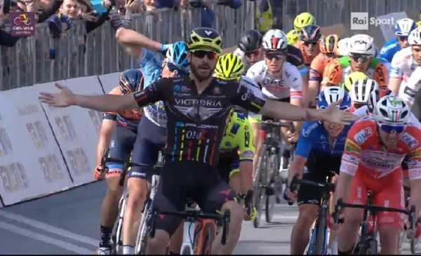 Giro di Sicilia 2019 tappa 1: vittoria di Stacchiotti