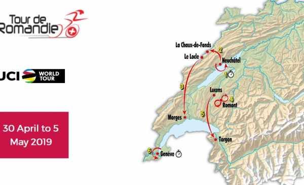 Giro di Romandia 2019: ordine di partenza e orari del Prologo a Cronometro