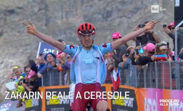 Giro 102: Zakarin vince il primo arrivo in salita