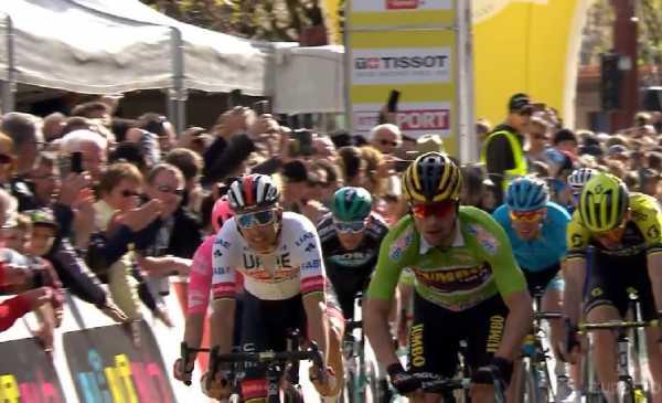 Giro di Romandia 2019 : tappa e maglia per Roglic