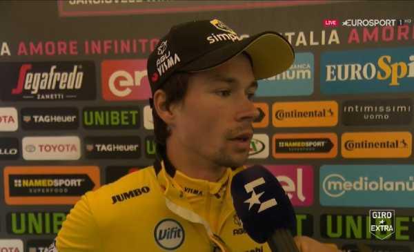 Giro 102: Roglic vince la Crono a San Marino, Nibali si difende e Yates crolla