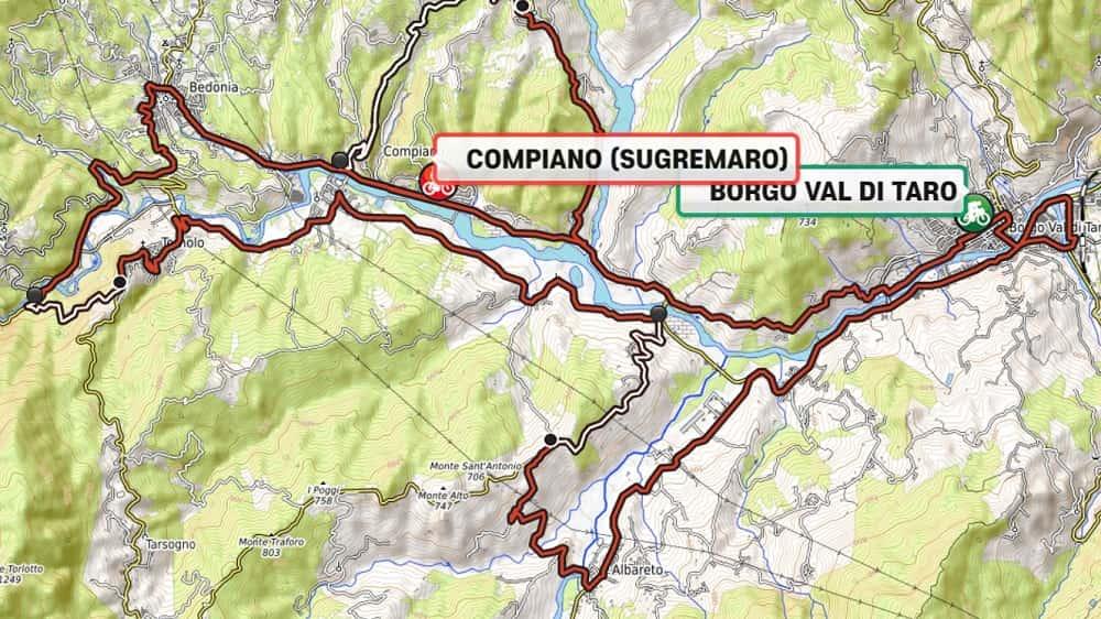 Campionati Italiani Strada 2019: percorso