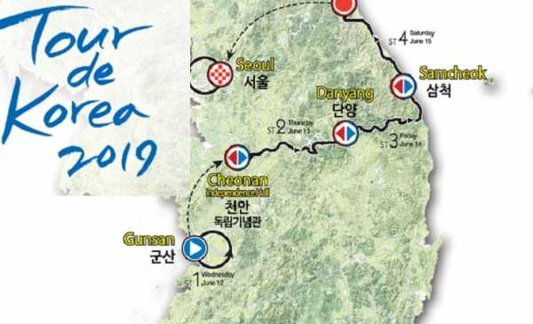 Tour de Korea 2019: tappe, percorso, altimetrie e start list | La Neri Sottoli al Via