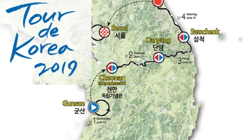 Tour de Korea 2019