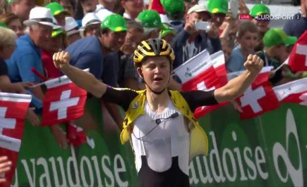 Tour de Suisse 2019 tappa 6: prima vittoria per Tolhoek, Bernal nuovo leader