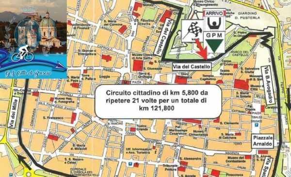 Trofeo Città di Brescia 2019: percorso con altimetria e start list