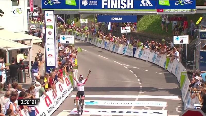 Colpo doppio di Ulissi al Tour of Slovenia 2019: vince la 3^ tappa e diventa leader