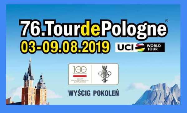 Tour de Pologne 2019, tappe, percorso con altimetrie e start list