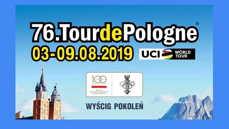 Tour de Pologne 2019 - Dal 3 al 9 agosto di corre il Giro di Polonia 2019, corsa a tappe in linea maschile inserita nel Calendario World Tour.