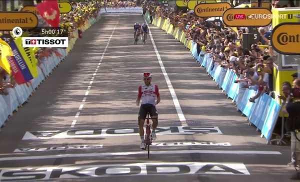 Tour de France 2019 tappa 8: vittoria di De Gendt, Alaphlippe torna in giallo