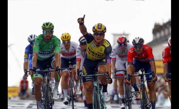 Tour de France 2019 tappa 7: Groenewegen vince la volata, Ciccone ancora in Giallo