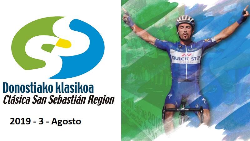 Clasica Ciclista San Sebastian 2019 percorso, start list e diretta TV