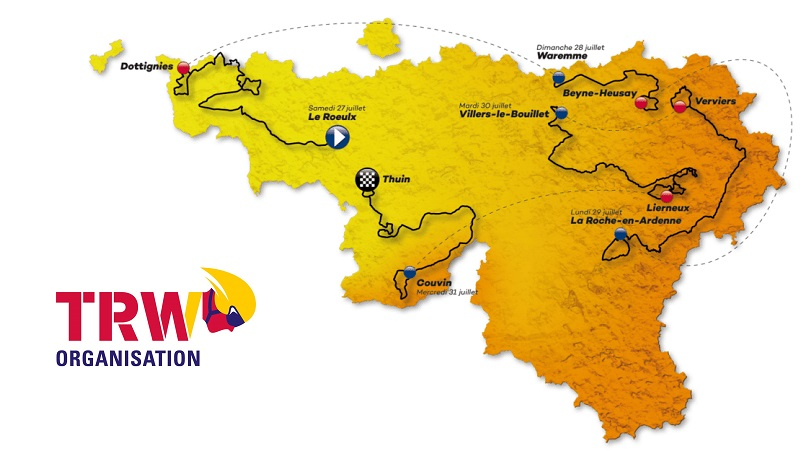 VOO-Tour de Wallonie 2019: percorso, altimetrie e start list