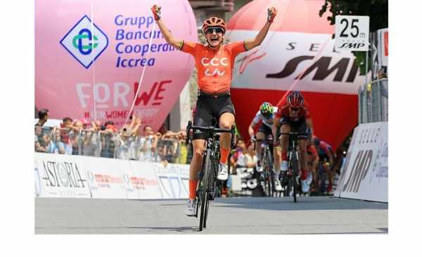 Giro Rosa 2019: Marianne Vos concede il bis e vince anche la 3^ tappa