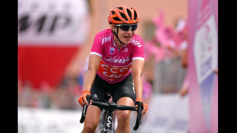 Giro Rosa 2019 tappa 7: vittoria della Vos, Longo Borghini 3^, van Vleuten sempre Rosa