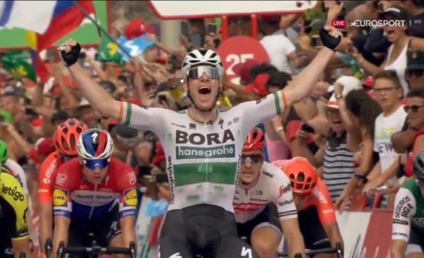 La Vuelta 2019 tappa 3: ad Alicante Bennett vince facile