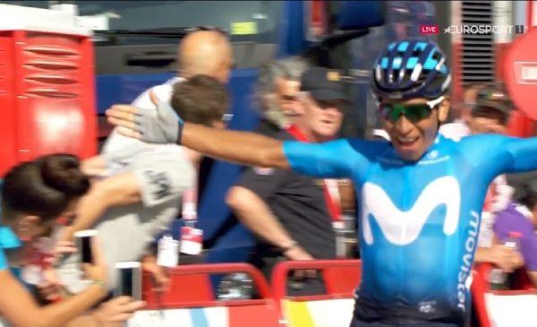 Vuelta 2019 tappa 2: vittoria di Quintana, Aru quinto recupera secondi