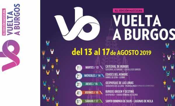 Vuelta a Burgos 2019: tappe, percorso, altimetrie e start list