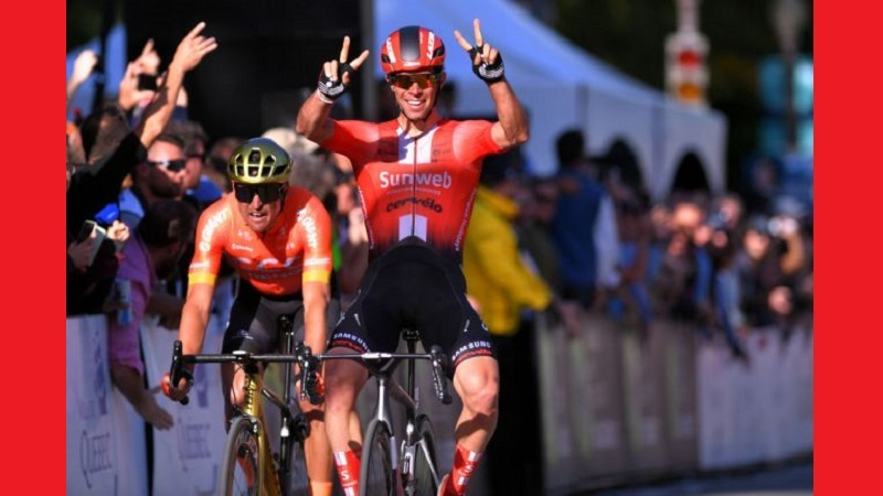 Grand Prix Cycliste de Québec 2019: Matthews concede il bis. Battuti Sagana e van Avermaet