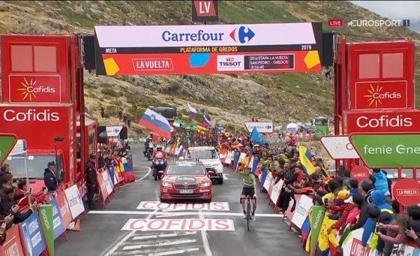 Roglic vince la Vuelta – terzo successo di tappa per Pogačar che si riprende il podio.