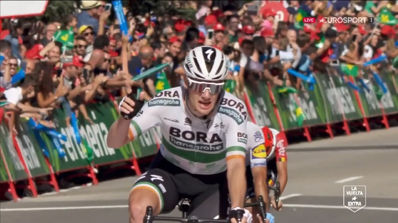 Vuelta 2019 tappa 14: bis di Bennet a Oviedo