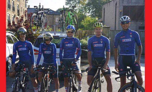 TEAM TIME TRIAL MIXED RELAY Yorkshire 2019: start list e orari di partenza della Crono Squadre Mista