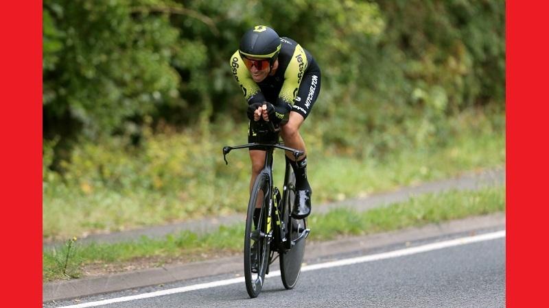 Tour of Britain 2019: vittoria di Edoardo affini nella Crono di Pershore