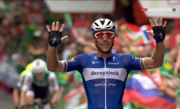 Vuelta 2019 tappa 12: a Bilbao arriva la vittoria per Gilbert