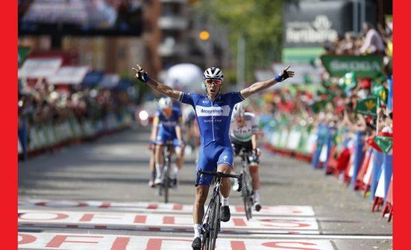 La Vuelta 2019 tappa 17: vince Gilbert, Quintana ringrazia il vento e risale in classifica