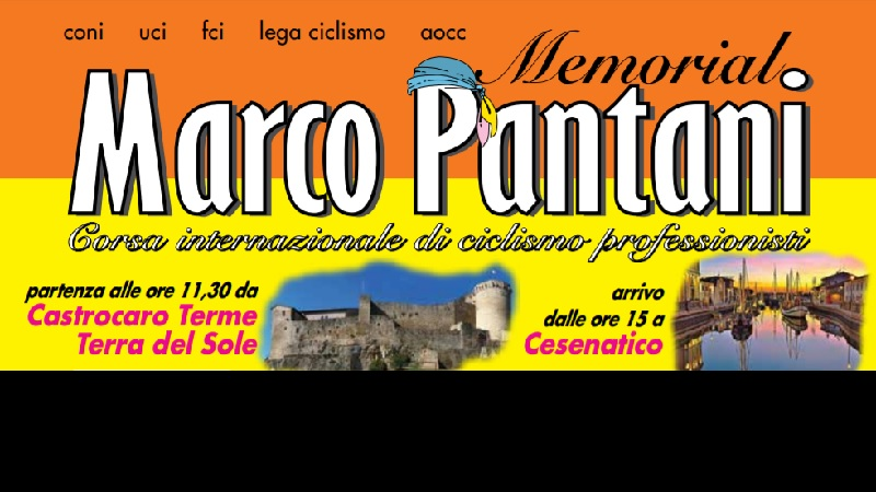 Memorial Marco Pantani 2019 anteprima con percorso altimetria e start list