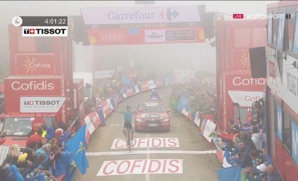 Vuelta 2019 tappa 16: Fuglsang vince all' Alto de la Cubilla