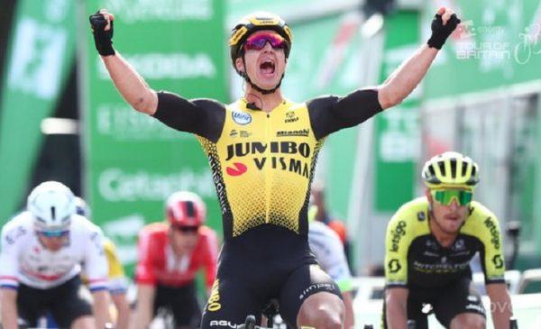 Tour of Britain 2019: Groenewegen vince la 1^ tappa davanti a Cimolai e Trentin