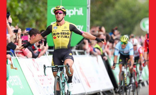 Tour of Britain 2019: Groenewegen vince la 5^tappa, Trentin torna leader